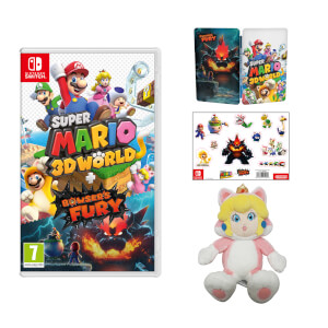 Super Mario 3D World + Bowser's Fury + Cat Peach Soft Toy