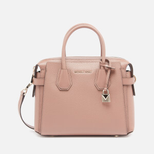 Michael Michael Kors Women's Mercer Belted Small Satchel - Dark Fawn
