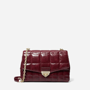 Michael Michael Kors Women's Soho Large Chain Shoulder Bag - DK Berry