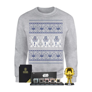 Star Wars Officially Licensed MEGA Christmas Gift Set - Includes Christmas Sweatshirt plus 3 gifts from I Want One Of Those