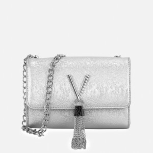 Valentino by Mario Valentino Women's Divina Small Shoulder Bag - Silver