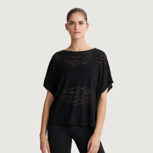 Varley Women's Almo T-Shirt - Zebra Sheer