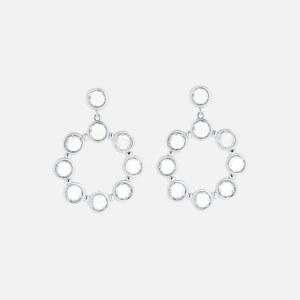 Ted Baker Women's Sarla: Starlight Drop Earrings - Silver/Crystal