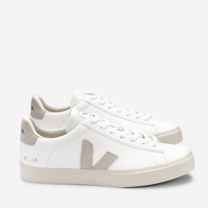 Veja Women's Campo Chrome Free Trainers - Extra White/Natural/Butter Sole