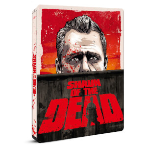 Shaun of the Dead - Zavvi Exclusive 4K Ultra HD Steelbook (Includes 2D Blu-ray)