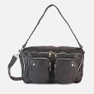 Núnoo Women's Alimakka Washed Shoulder Bag - Black