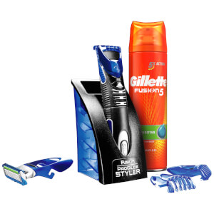 Gillette Styler, Gel 200ml and 1 ProGlide Blade