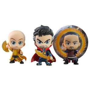Hot Toys Cosbaby Marvel Avengers: Endgame - Doctor Strange & Ancient One & Wong (Set of 3) Figure