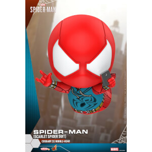 Hot Toys Cosbaby Marvel's Spider-Man PS4 - Spider-Man (Scarlet Spider Suit Version) Figure