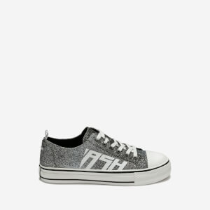 Ash Women's Vanda Degrade Glitter Trainers - Black/Silver