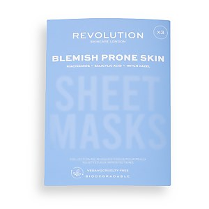 Biodegradable Acne Prone Skin Sheet Mask