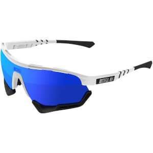 Scicon Aerotech Xl Road Sunglasses - White Gloss