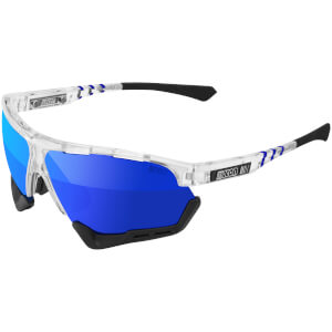 Scicon Aerocomfort Xl Road Sunglasses - Crystal Gloss