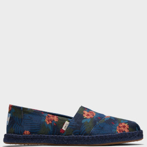 TOMS Women's Alpargata Rope Floral Slip-On Pumps - Multi