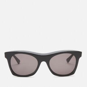 Bottega Veneta Women's Classic Acetate Sunglasses - Black/Grey