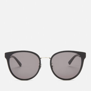 Bottega Veneta Women's Round Sunglasses - Black/Grey