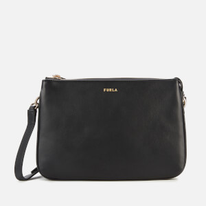 Furla Women's Cosy Mini Cross Body Bag - Black