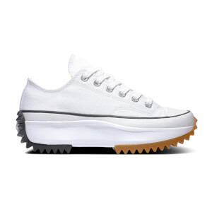 Converse Run Star Hike Ox Trainers - White/Black/Gum