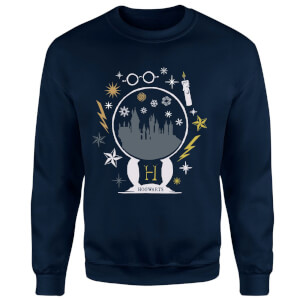Harry Potter Hogwarts Sweatshirt - Navy