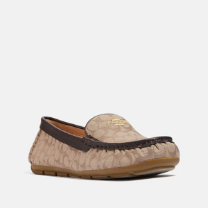 Coach Women's Marley Jacquard Driving Shoes - Stone