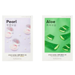 MISSHA Airy Fit Sheetmask Aloe / Pearl