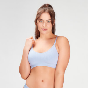 MP Women's Composure Seamless Bralette - Xenon Blue