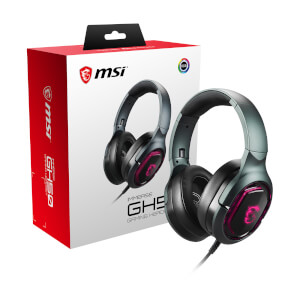 MSI IMMERSE GH50 7.1 Virtual Surround Sound RGB USB Gaming Headset