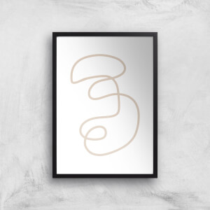 in homeware x Polly Sayer Face Giclee Art Print
