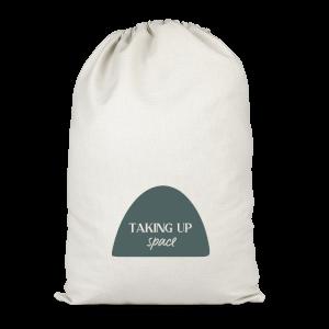 Yasmin Fatollahy Taking Up Space Cotton Storage Bag