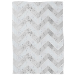 in homeware x Charlotte Greedy Geometric Marble Tea Towel