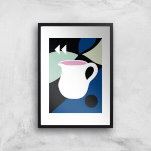 Abstract Jug Giclee Art Print
