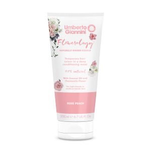 Umberto Giannini Flowerology Colour Mask - Rose Peach 195ml