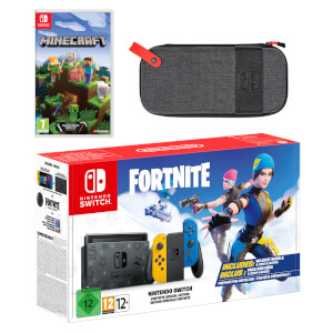 Nintendo Switch Fortnite Special Edition Minecraft Pack