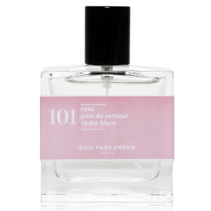 Bon Parfumeur 101 Rose Sweet Pea White Cedar Eau de Parfum (Various Sizes)