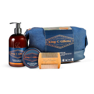 King C. Gillette Beard Essentials Bag