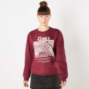 Lord Of The Rings Gimli Lord Of The Glittering Rocks Sweatshirt - Burgundy