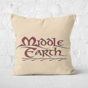 Lord Of The Rings Middle Earth Cushion Square Cushion