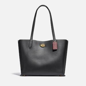Coach New York Women's Willow Tote Bag - Black
