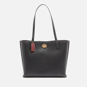 Coach Women's Willow Tote Bag - Black