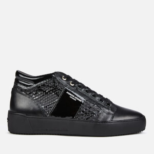 Android Homme Men's Propulsion Mid Geo Gloss Trainers - Black