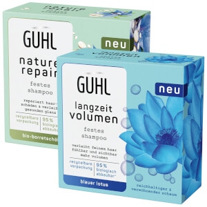 GUHL Repair & Balance Nature Repair / Langzeit Volumen Festes Shampoo