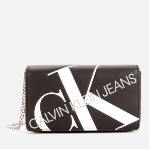 Calvin Klein Jeans Women's Logo Phone Cross Body Bag - Black