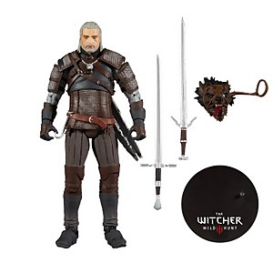"McFarlane Toys Witcher Gaming 7"" Figures 1 - Geralt of Rivia Action Figure"