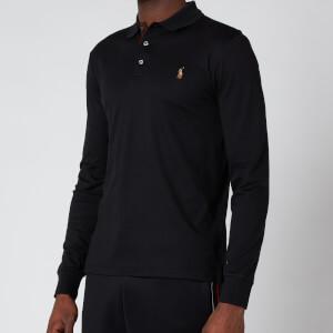 Polo Ralph Lauren Men's Interlock Long Sleeve Polo Shirt - Polo Black