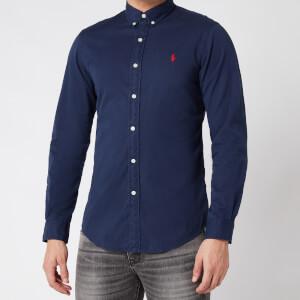 Polo Ralph Lauren Men's Slim Fit Chino Shirt - Cruise Navy