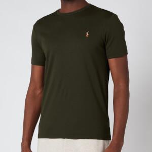 Polo Ralph Lauren Men's Custom Slim Interlock T-Shirt - Estate Olive