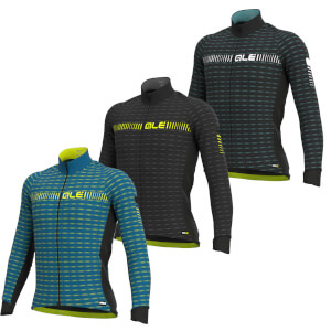 Alé Graphics Prr Green Road Winter Long Sleeve Jersey
