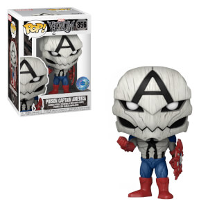 Figurine Pop! Exclusive Marvel PIAB - Poison Captain America