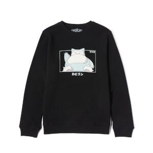 Pokémon Snorlax Unisex Sweatshirt - Black