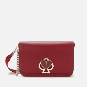 Kate Spade New York Women's Nicola Twistlock Medium Cross Body Bag - Red Wine